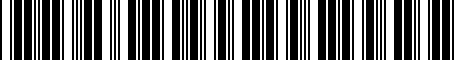 Barcode for PT45A08080